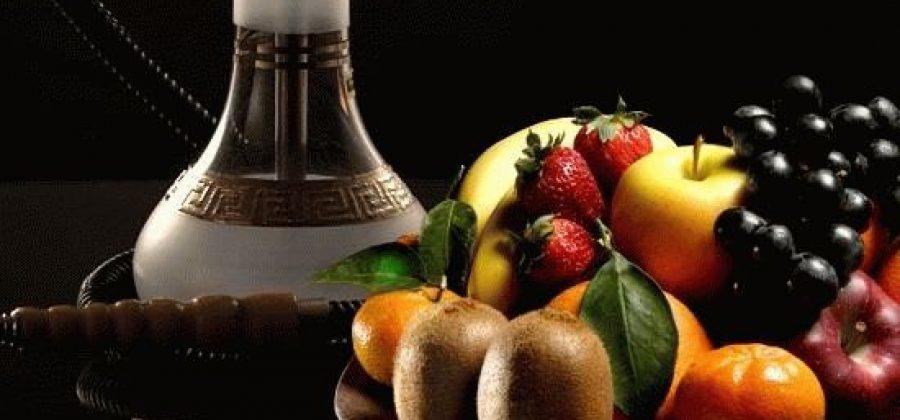 Еда и напитки при курении кальяна