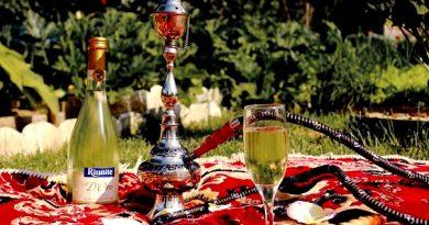 Кальян на шампанском