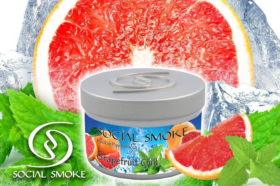 social smoke Grapefruit Chill