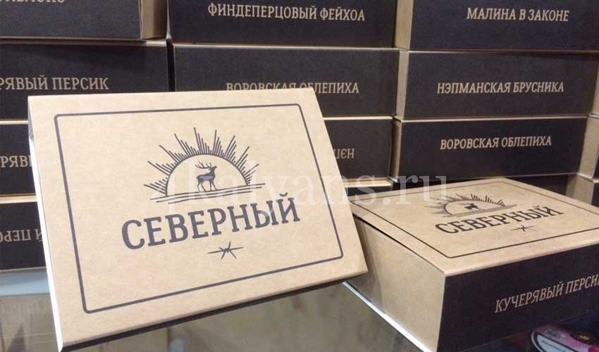 северный упаковка