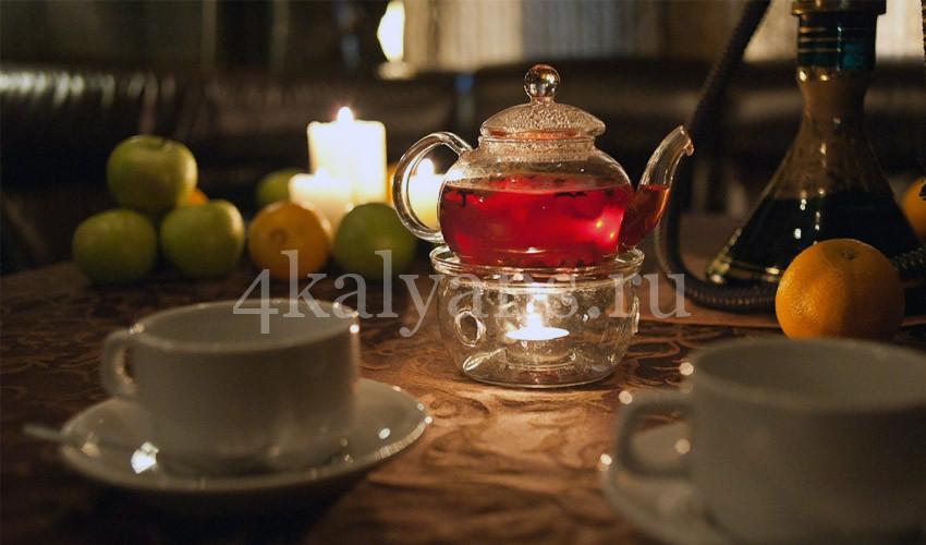 кальян га горячем чае