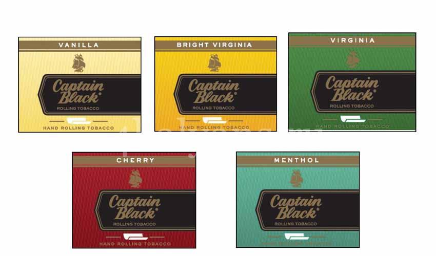 табак Captain Black вкусы