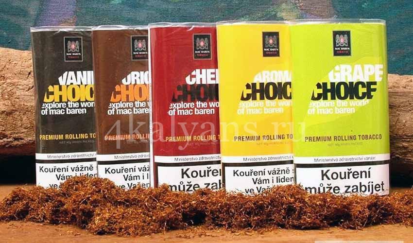 табак Mac Baren для самокруток