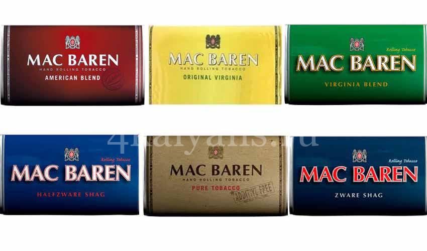 Табак для самокруток Мак Барен