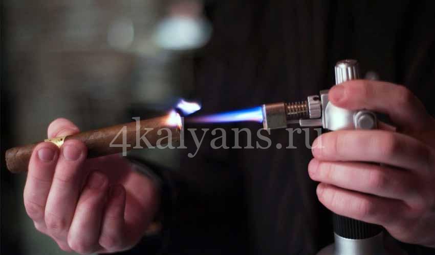турбозажигалка для сигар