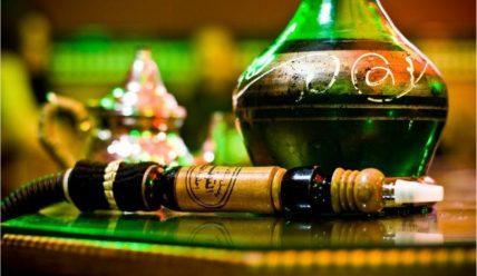 Кальян на вине