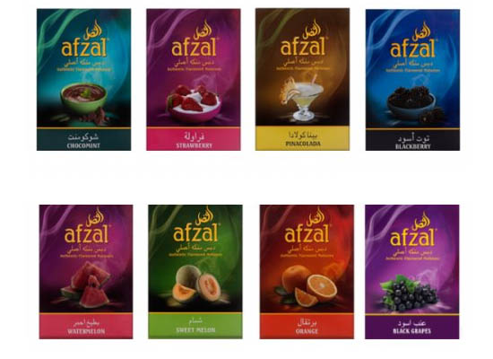 afzal вкусы