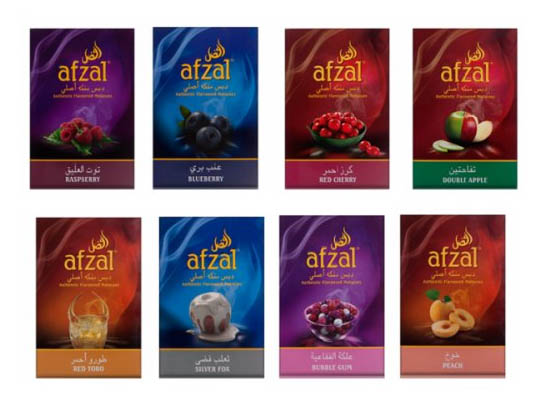 Вкусы afzal